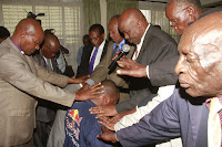 Big boost for MIKE SONKO as KIKUYU, EMBU, MERU and KAMBA community elders endorses his bid.