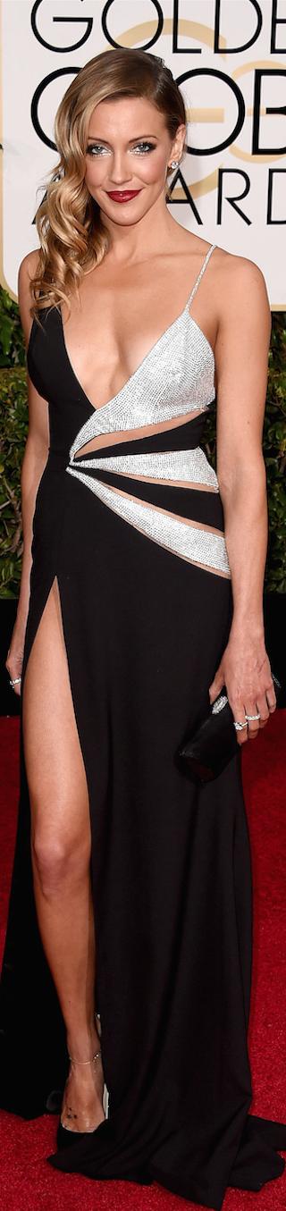 Katie Cassidy 2015 Golden Globe Awards