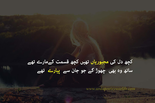 sad urdu poetry image