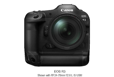 Canon Announces Development of the EOS R3 Full-frame Mirrorless Camera