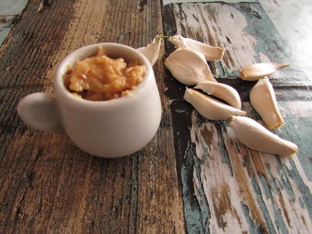 pasta z czosnku