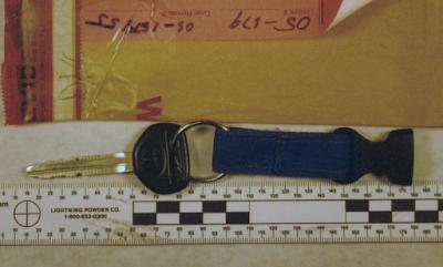 A key to Teresa Halbach's 1999 Toyota RAV4 found in Steven Avery's bedroom