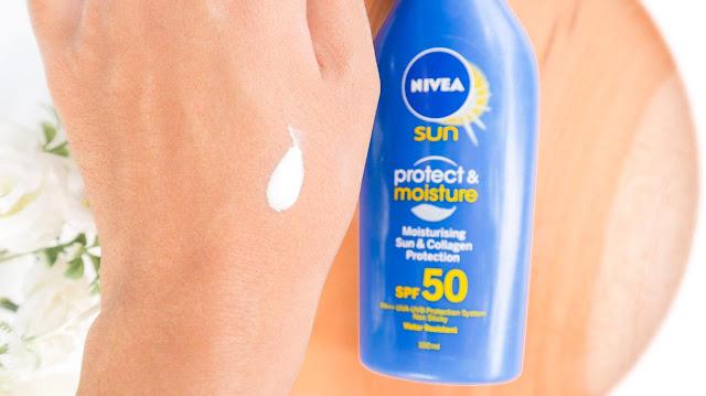 Nivea Sun Protect & Moisture : Moisturizing Sun Lotion SPF 50