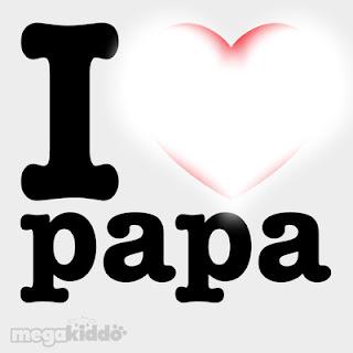 Texte d'amour je t'aime papa