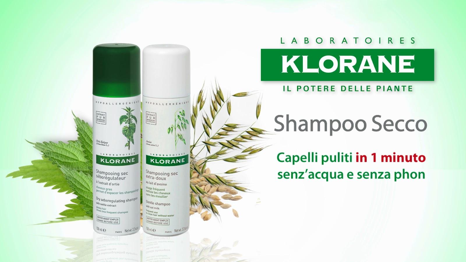 Soluzione fast per capelli puliti in un minuto: Klorane ...