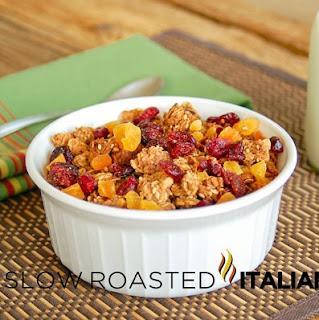 Spiced Honey Nut Breakfast Granola
