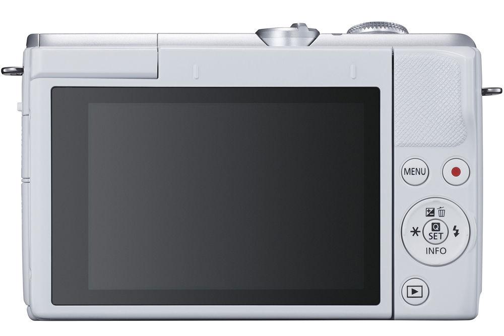 Canon EOS M200, вид сзади