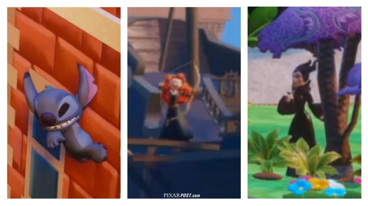 Disney infinity 2 0 press event details marvel merida stitch and