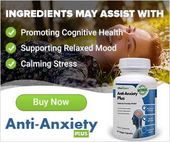 natural anti anxiety pills