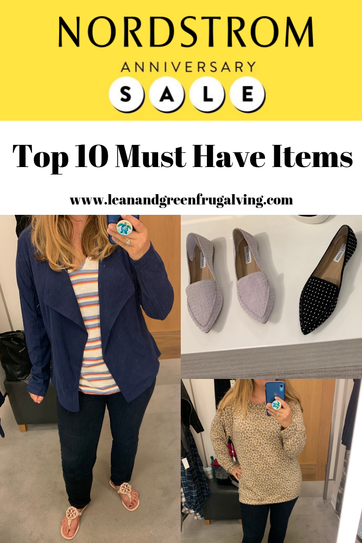 My Top 10 Nordstrom Anniversary Sale Must Haves 2019