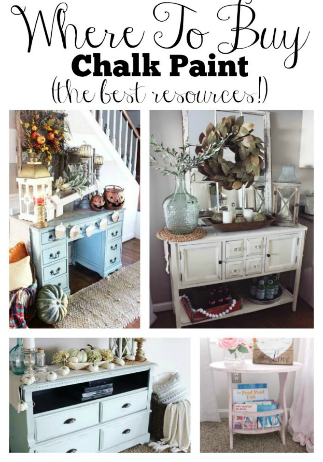 Where To Buy Chalk Paint The Glam Farmhouse