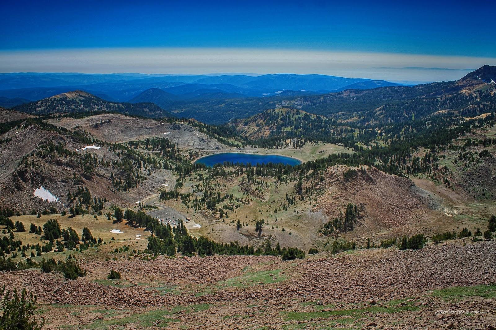 Lassen Volcanic National Park Cascades volcano California eruption disaster lava hiking geology travel field trip photography copyright RocDocTravel.com