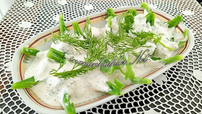 Yoğurtlu Brokoli Salatası Tarifi - www.inanankalpler.net