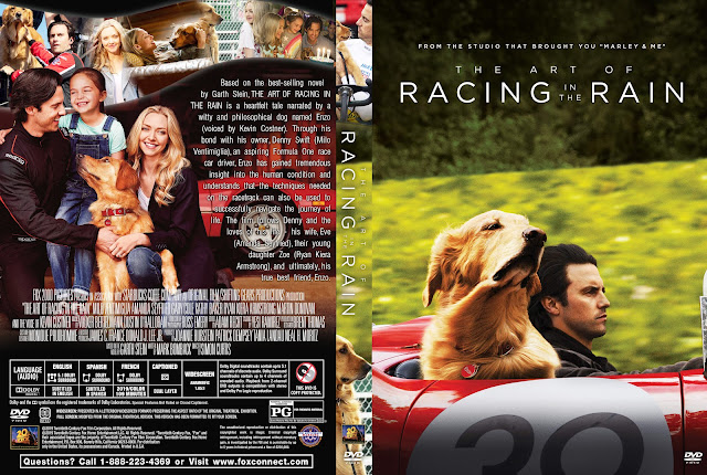 The Art of Racing in the Rain DVD Cover