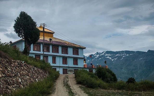 Lahaul & Spiti Tourist Attraction : Sha Shur Monastery