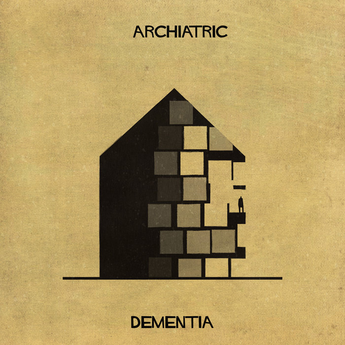 16 Mental Disorders Illustrated Through Architecture - Dementia