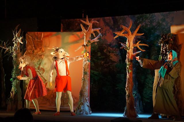 Koziołek Matołek w wersji teatralnej - spektakl, który zachwycił naszego 2-latka