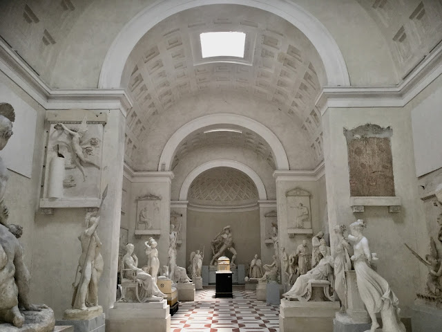 VENICE BLOG Inside the Canova Gypsotheca - Photo: Cat Baue