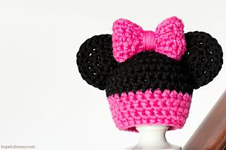 Ravelry: Mini Minnie Mouse Amigurumi pattern by Laila Lielbarde | 213x320