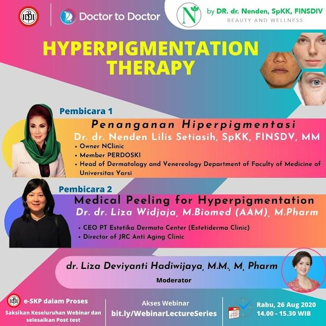 "Webinar D2D ""Hyperpigmentation Therapy"""