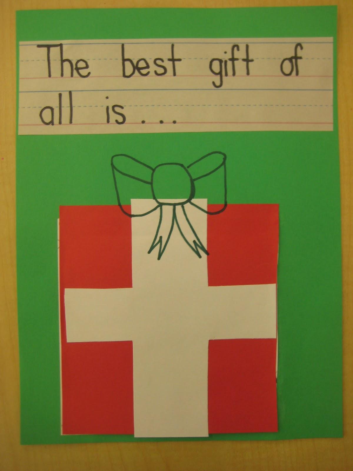 Kindergarten Smiles Holiday Ideas