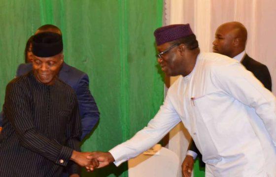 Amotekun: Osinbajo, South West governors meet in Abuja