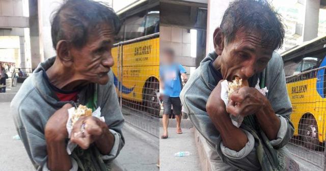 Isang lalaking may kapansanan, umantig sa mga netizens