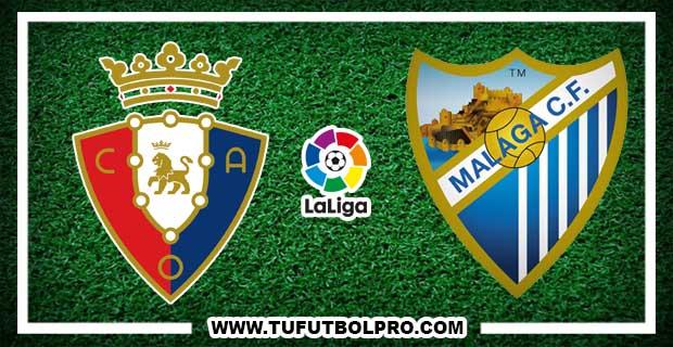 Ver Osasuna vs Málaga EN VIVO Por Internet Hoy 27 de Enero 2017