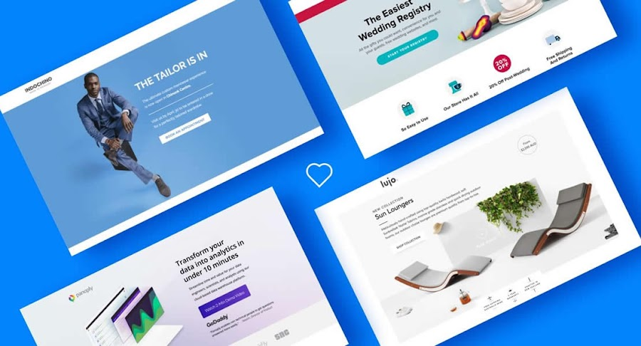 Using landing pages for business marketing