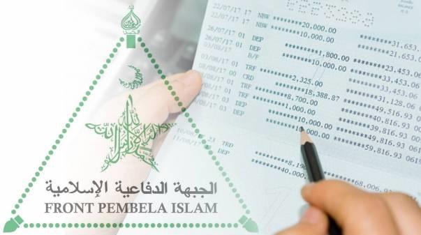 92 Rekening FPI Diblokir, Polri Belum Temukan Tindak Pidana