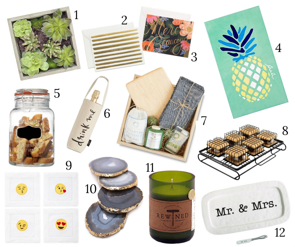 Host Gift Ideas borrowed heaven: summer hostess gift ideas