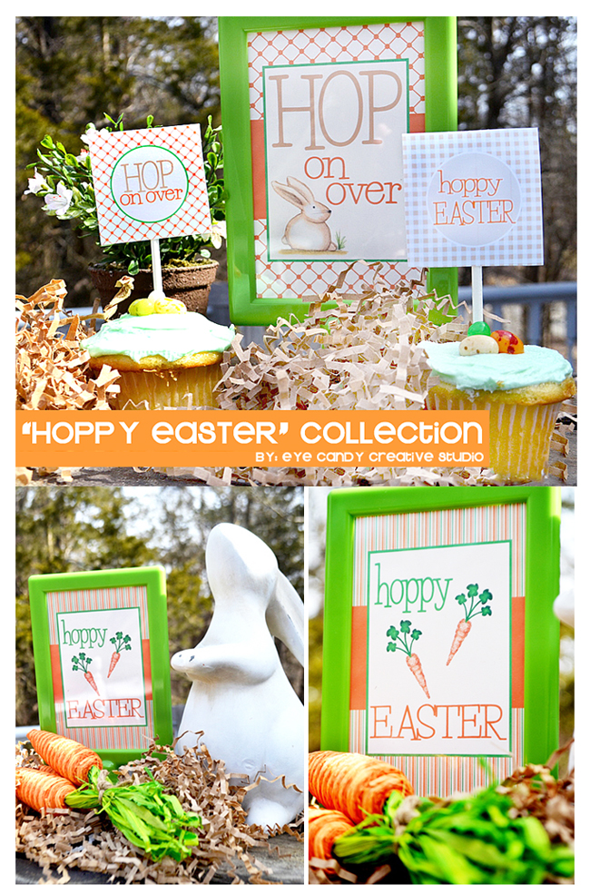 easter collection, easter party , easter bunny, illustration, outdoor party