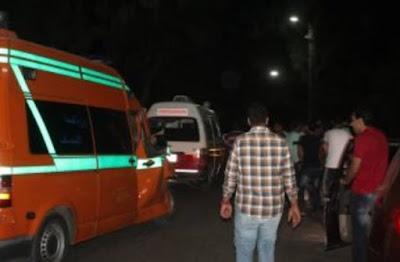 نجل منى عبد الغني يتعرض لحادث سير مروع