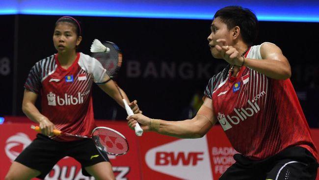 Greysia Dan Apriyani Ke Babak Kedua Indonesia Masters 2019