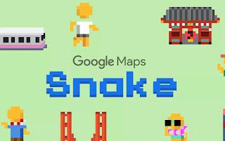 [News] Google phát hành game Snake trên Google Maps nhân ngày Cá tháng Tư