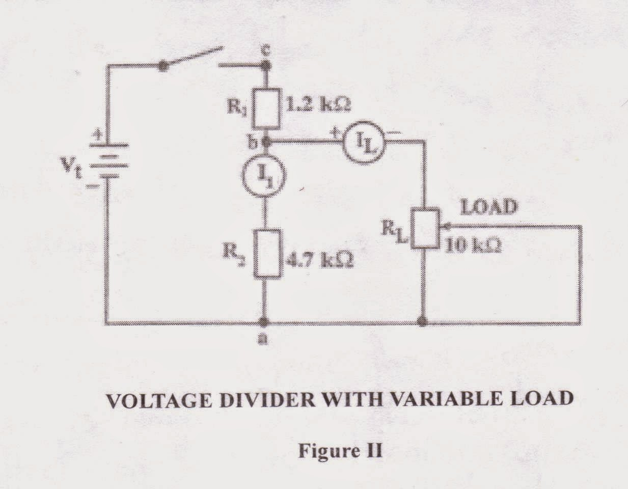 Exercise 2 Electrical Sba Voltage Divider In Series And Parallel Circuit