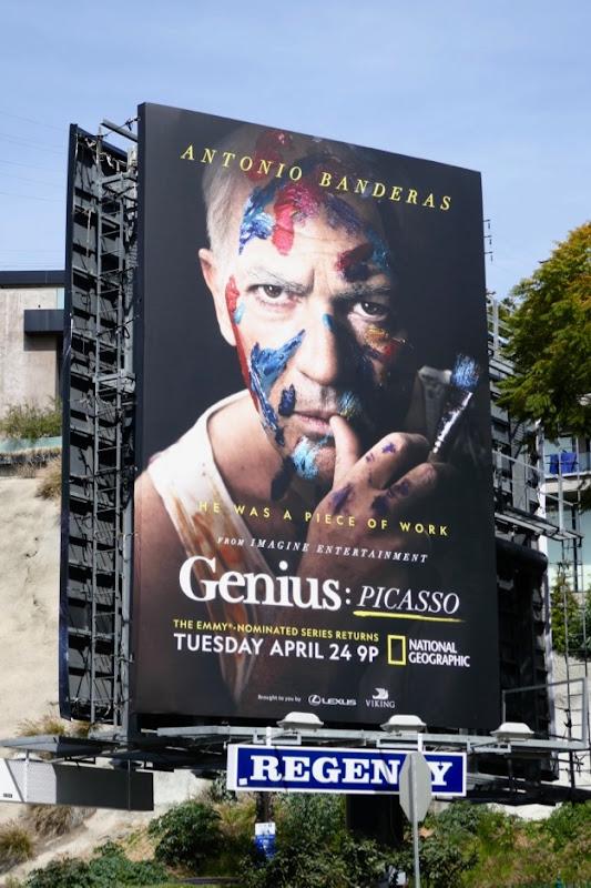 Genius Picasso billboard