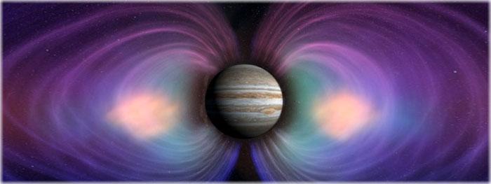 campos magnéticos - quais planetas tem?