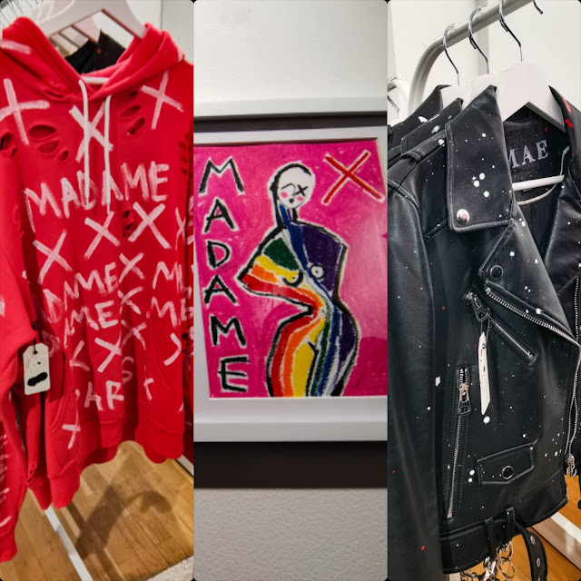 Madonna Madame X Mae pop-up store opening for Fall-Winter 2020-2021 in Paris by RUNWAY MAGAZINE