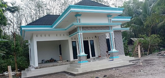 rumah minimalis dengan atap limasan