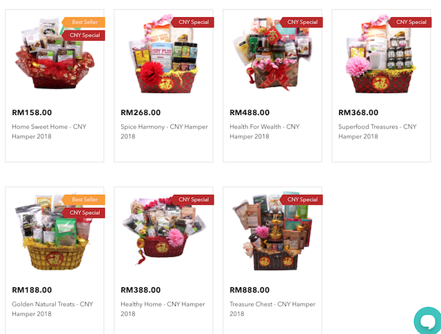 CNY Specials! Koyara Chinese New Year Hampers