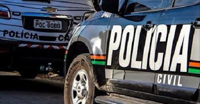 Polícia prende mãe e filho foragidos da Justiça de São Paulo em Quixeramobim