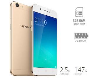 Spesifikasi dan harga Hp Oppo A39
