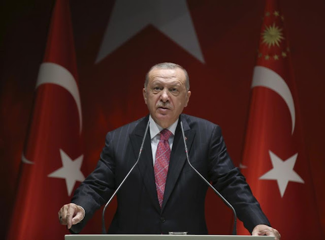 Ερντογάν: Σκοπός μας η αναβίωση της ιστορίας