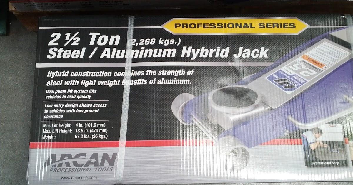 Arcan 2 5 Ton Hybrid Floor Jack Hj2500 Costco Weekender