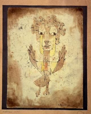 Quadro astratto Paul Klee, Angelus novus