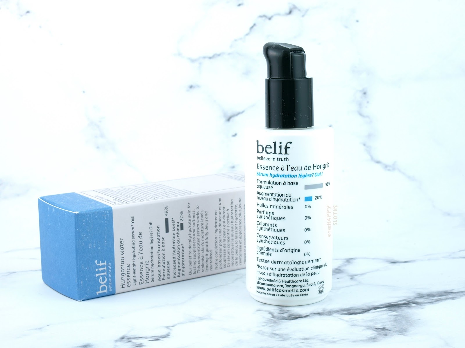 Belif Hungarian Water Essence: Review