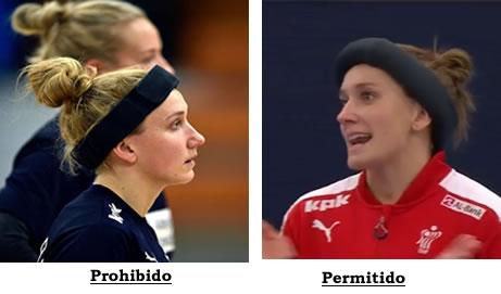 vincha casera protección cabeza handball