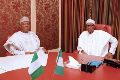 What I discussed with President Buhari On 2017 budget – Saraki