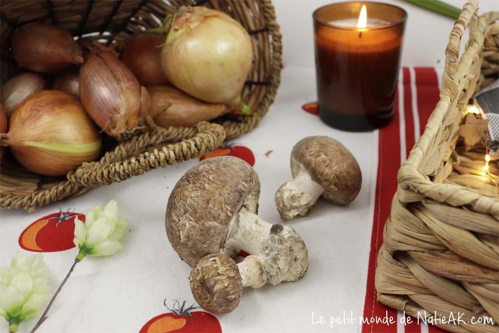 champignons de Paris sans produits chimiques